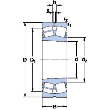 Bearing 23944 CCK/W33 SKF