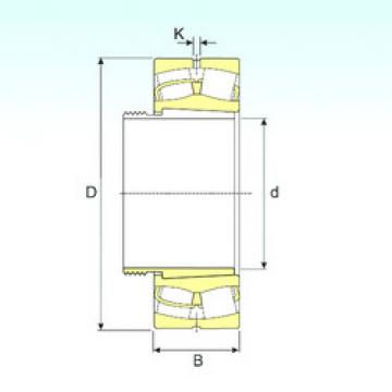 Bearing 240/950 EK30W33+AOH240/950 ISB