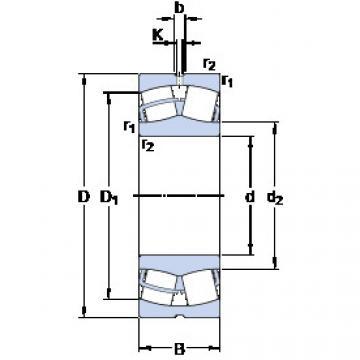 Bearing 24068 CC/W33 SKF