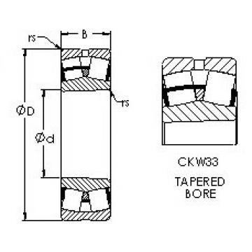 Bearing 23076CAKW33 AST