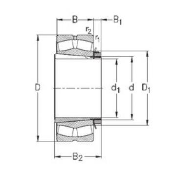 Bearing 239/710-K-MB-W33+OH39/710-H NKE