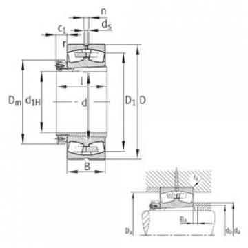 Bearing 239/750-K-MB+H39/750 FAG