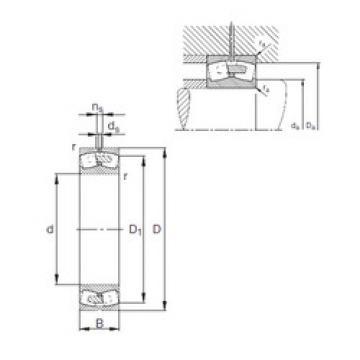 Bearing 241/500-E1A-MB1 FAG