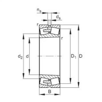 Bearing 22348-E1A-K-MB1 FAG