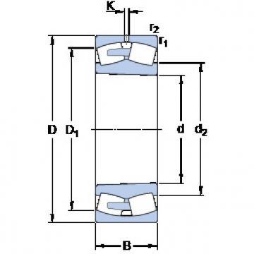 Bearing 248/1120 CAK30FA/W20 SKF