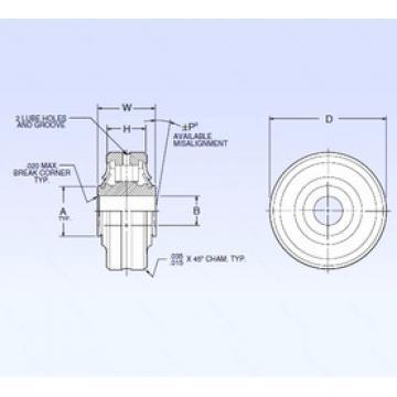 Bearing ASR4-4A NMB