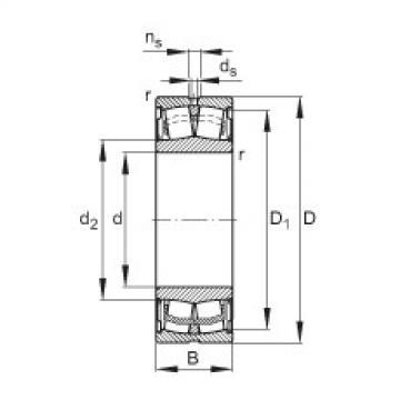 Bearing WS22214-E1-2RSR FAG