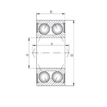 Bearing 3209-2RS ISO