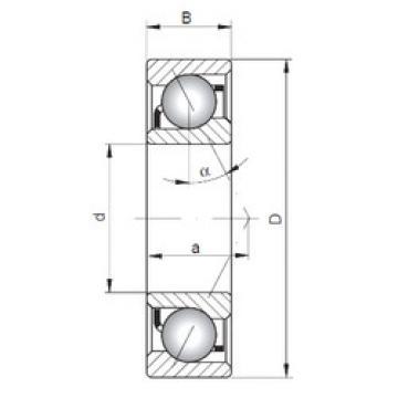 Bearing 71912 C ISO