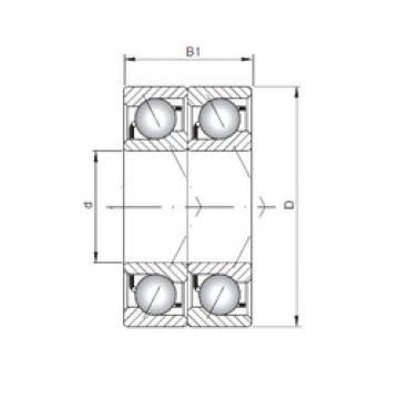 Bearing 7024 CDT ISO