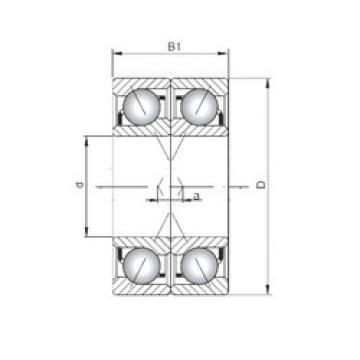 Bearing 7409 BDF ISO