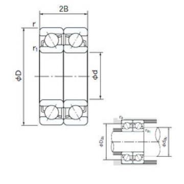 Bearing 7021CDF NACHI
