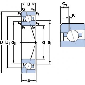 Bearing 7018 CE/P4AH1 SKF