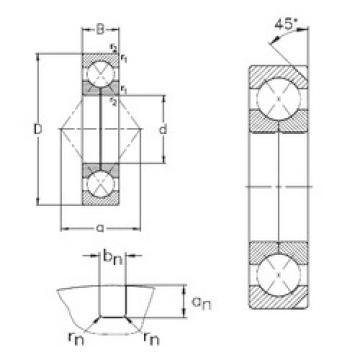 Bearing QJ319-N2-MPA NKE