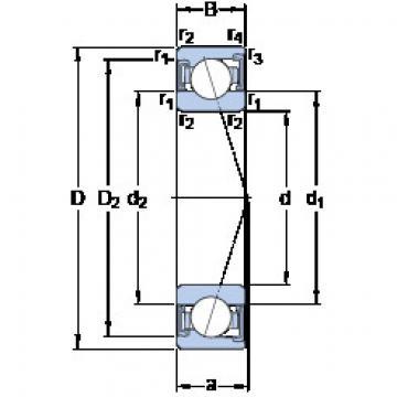 Bearing S7203 CD/HCP4A SKF