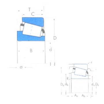 Bearing HH932145/HH932115 Timken