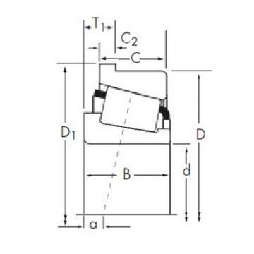 Bearing 2582/2523-B Timken