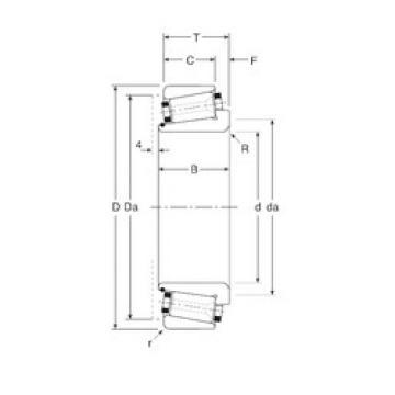 Bearing 130063X/130120 Gamet