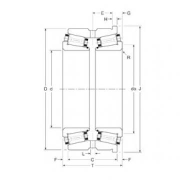 Bearing 180100/180180H Gamet