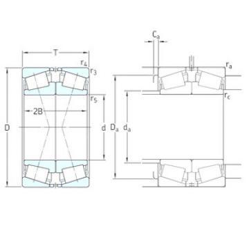 Bearing 32228J2/DF SKF