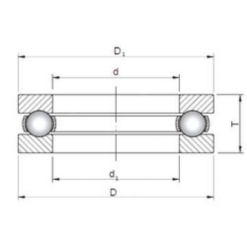 Bearing 51192 ISO