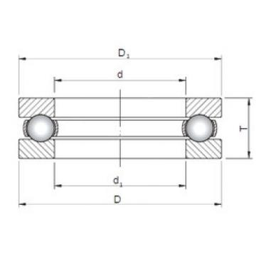 Bearing 51280 ISO