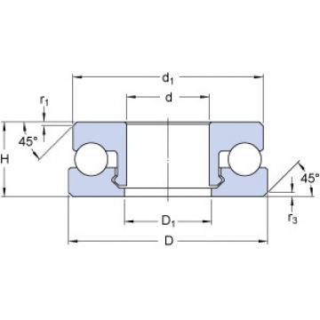 Bearing 51203 V/HR22Q2 SKF