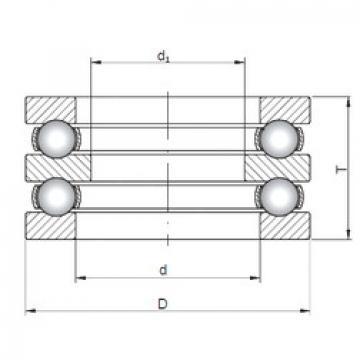 Bearing 52311 ISO