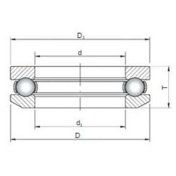 Bearing 53416 ISO