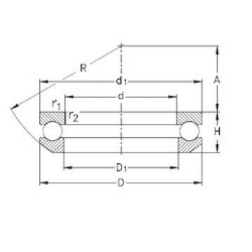 Bearing 53422-MP NKE