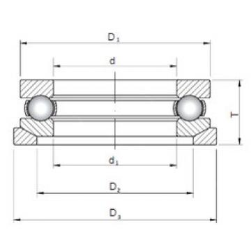 Bearing 53201U+U201 ISO