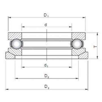 Bearing 53307U+U307 ISO