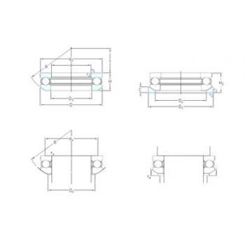Bearing 53309+U309 SKF