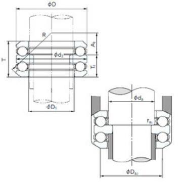 Bearing 54307 NACHI