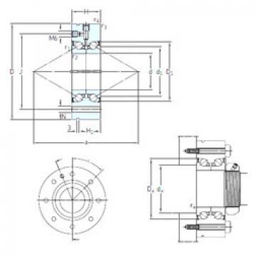 Bearing BEAM 17/62/Z 7P60 SNFA