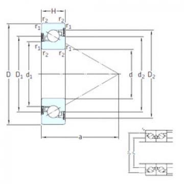 Bearing BS 225 /S 7P62U SNFA