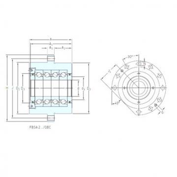Bearing BSQU 245 TDT SNFA