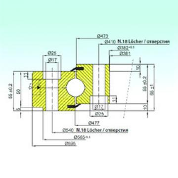 Bearing NB1.25.0475.200-1PPN ISB