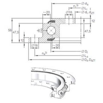 Bearing VLU 20 0644 INA