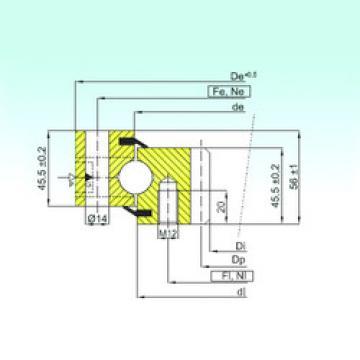 Bearing ZB1.20.0944.200-1SPTN ISB