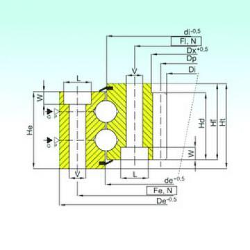 Bearing ZB2.25.0972.400-1SPPN ISB