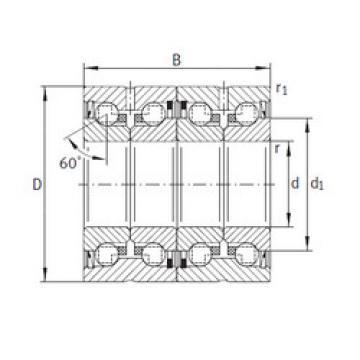 Bearing ZKLN2052-2RS-2AP INA