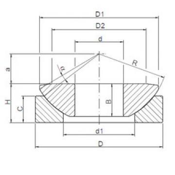 Bearing GW 180 ISO