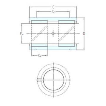 Bearing LPAR 8 SKF
