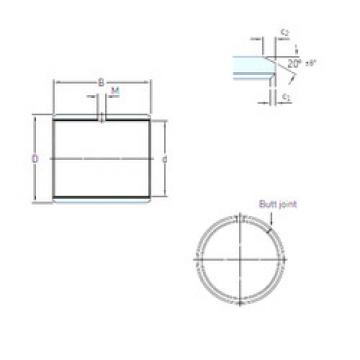 Plain Bearings PCM 455040 E SKF