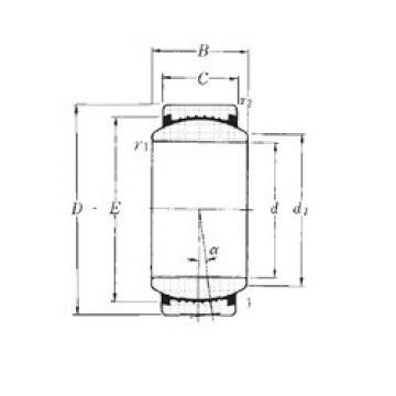 Plain Bearings SAR1-50 NTN