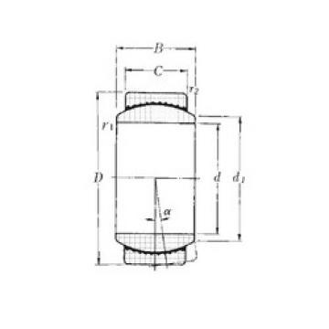 Plain Bearings SAR4-45 NTN