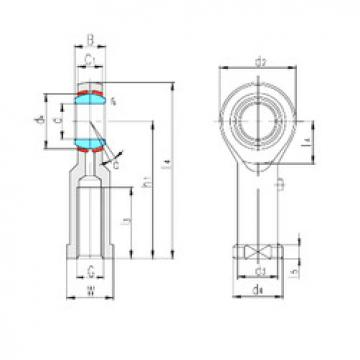 Plain Bearings SIBP10S LS