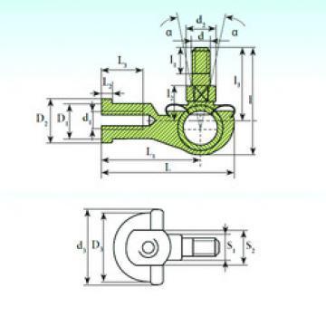 Plain Bearings SQ 20 C RS ISB