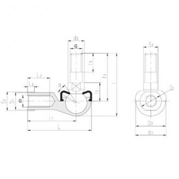 Plain Bearings SQY19-RS LS